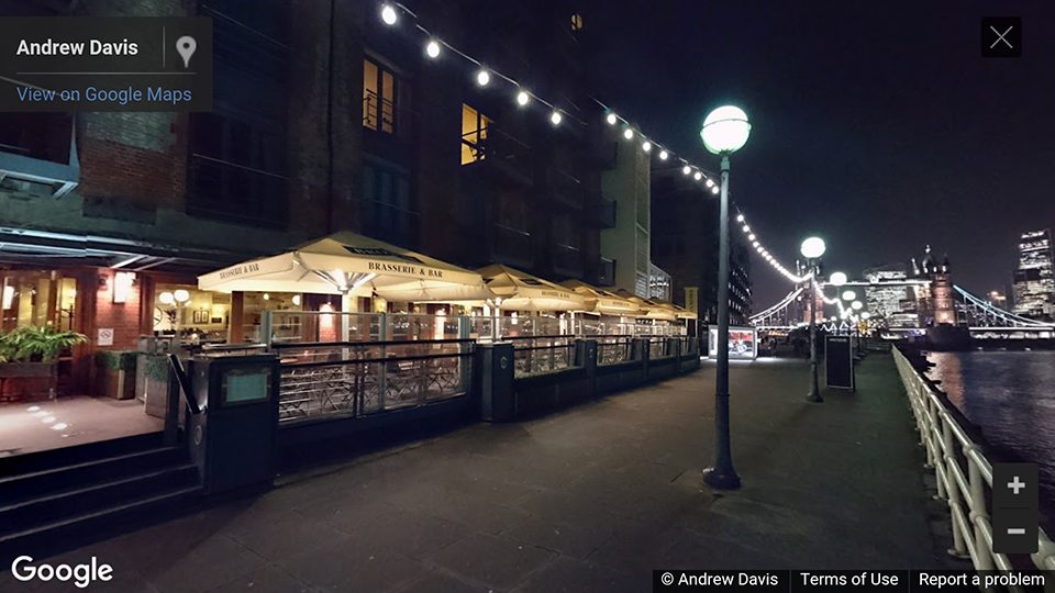 Brown's, Butlers Wharf, London, UK photosphere