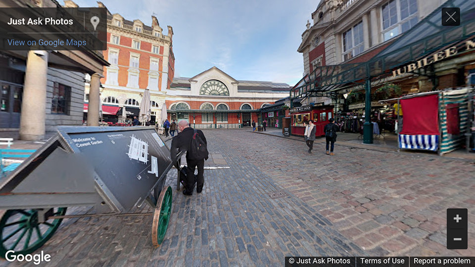 London Transport Museum Covent Garden London photosphere
