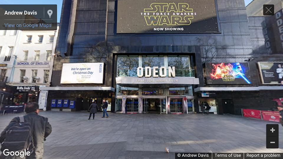 Odeon, Leicester Square, london, UK photosphere