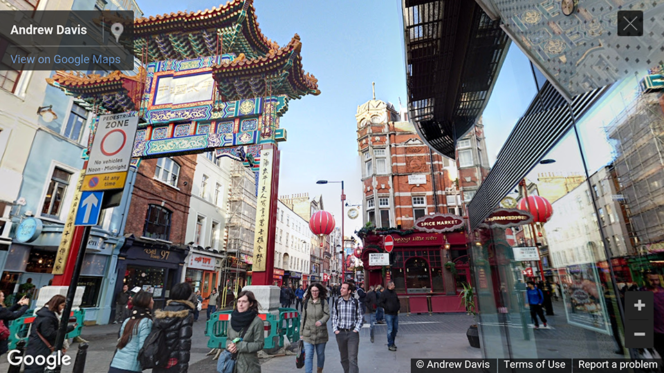 Spice Market, Soho, London, UK photosphere
