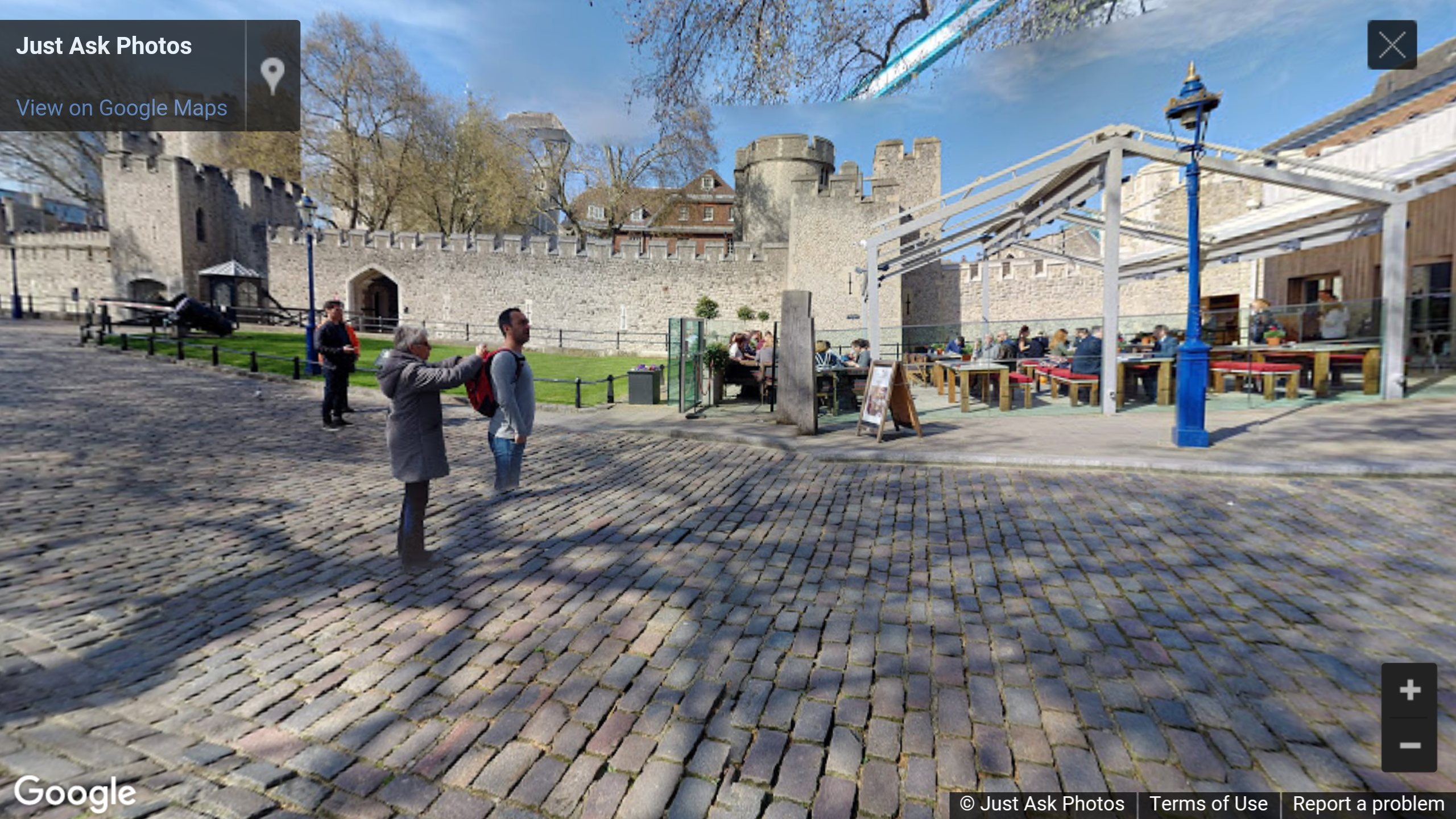 The Perkin Reveller, The Wharf, Tower of London, London, UK photosphere